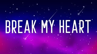 Baixar Dua Lipa - Break My Heart (Lyrics)