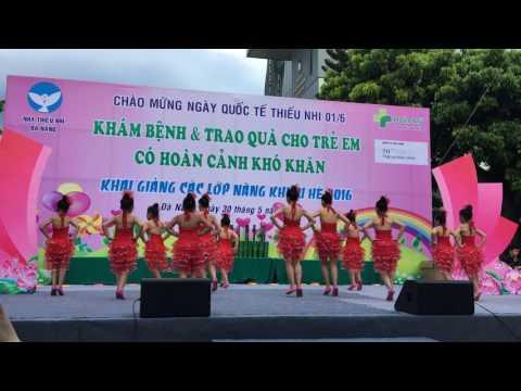 Khiêu vũ thể thao - Nhà thiếu nhi Đà Nẵng 2016