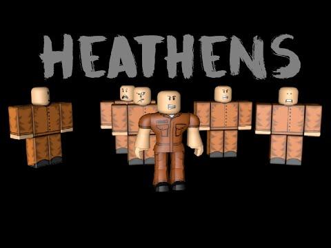 Heathens - Twenty One Pilots (ROBLOX MUSIC...