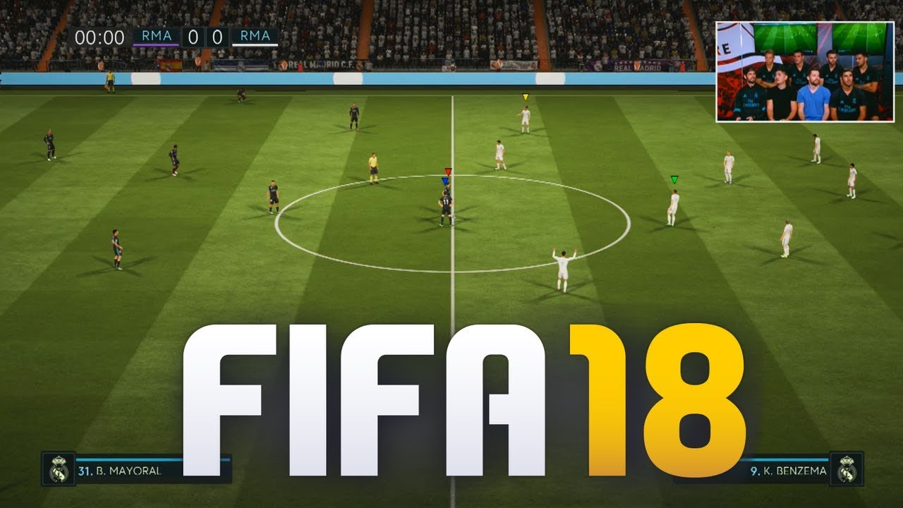 first official fifa 18 gameplay youtube. Black Bedroom Furniture Sets. Home Design Ideas