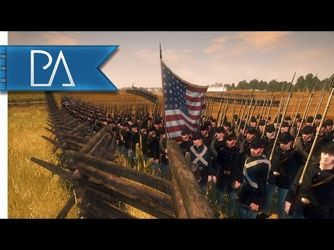 Battle Of Antietam: Cornfield - North & South: American Civil War Mod Gameplay