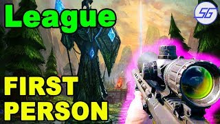 League of Legends in FIRST PERSON!! | Summoner