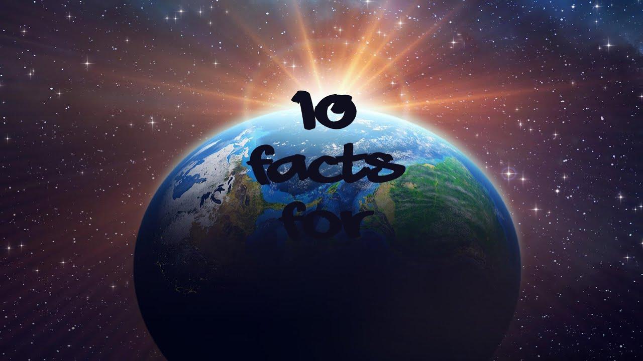 10 ИНТЕРЕСНИ ФАКТИ ЗА ЗЕМЯТА