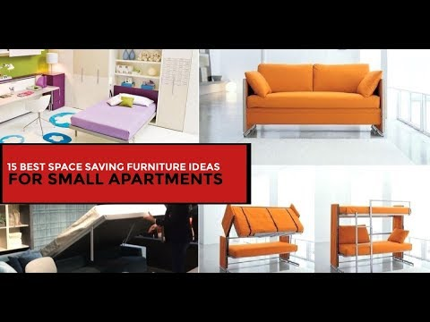 15 Space Saving Furniture Ideas for Your Small Apartment