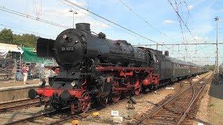 Compilatie van de Stoom Stichting Nederland locomotief 01 1075