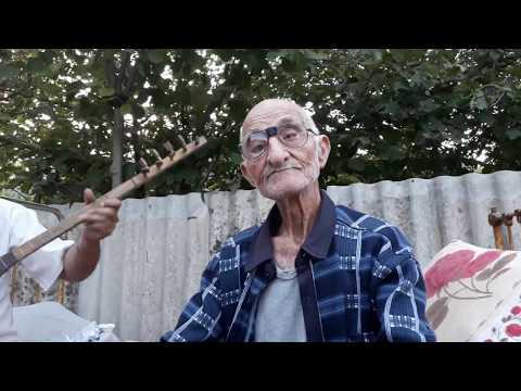 Tovuz rayonu Avdal kendi 95 yaşlı Fərmayıl babanın Dağlar şeiri (sazda ifa edir SAHİB İSMAYILOV)