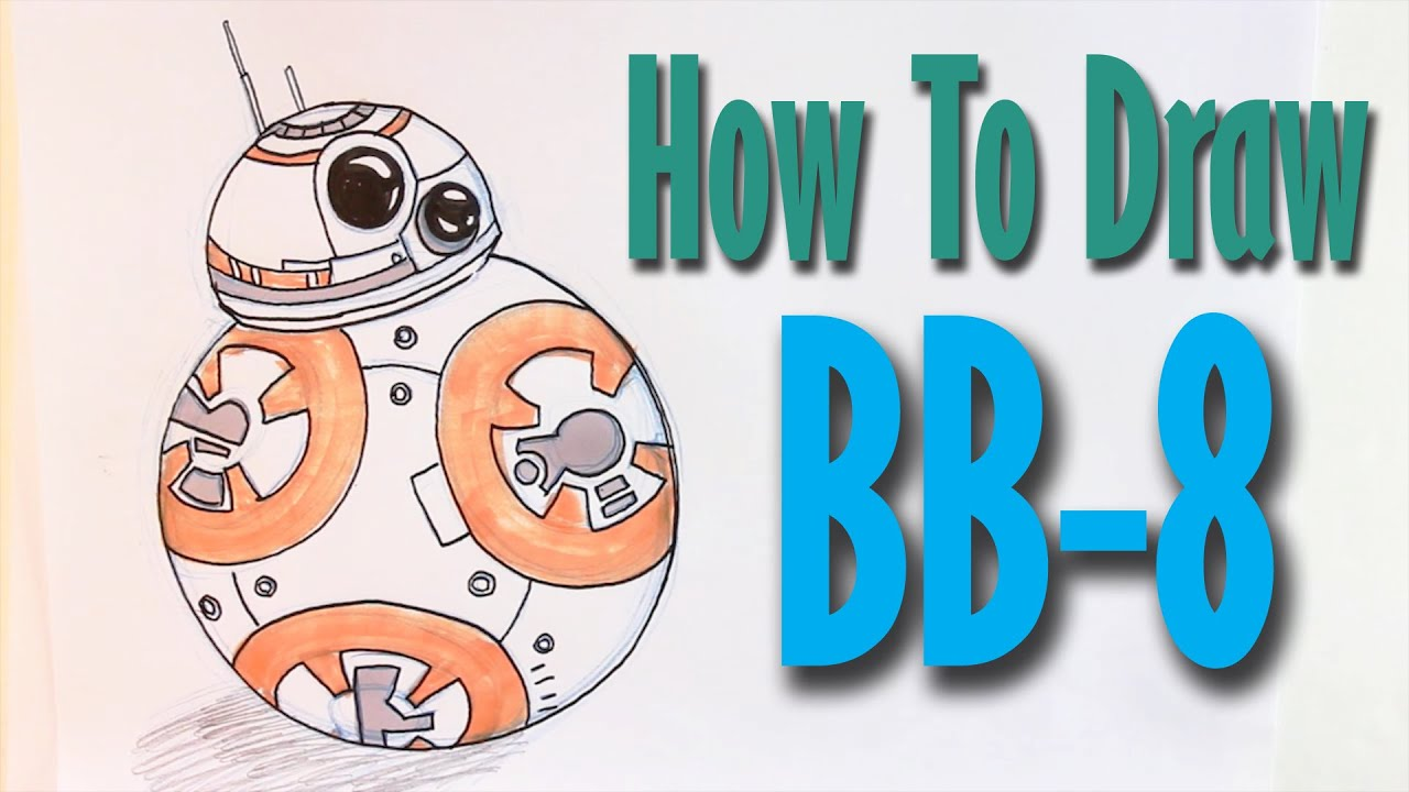 how to draw bb 8