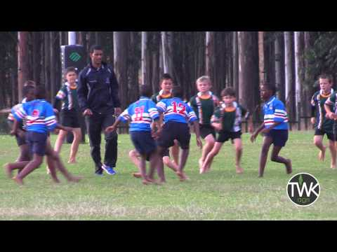 Junior School Rugby - 10 year old scores brilliant try !!