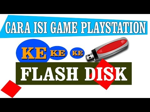 Cara Isi Game Ps 2 Ke Flashdisk