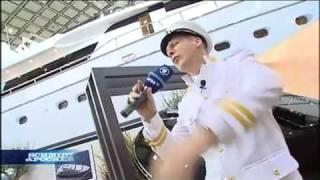 Oliver Pocher auf der Bootsmesse