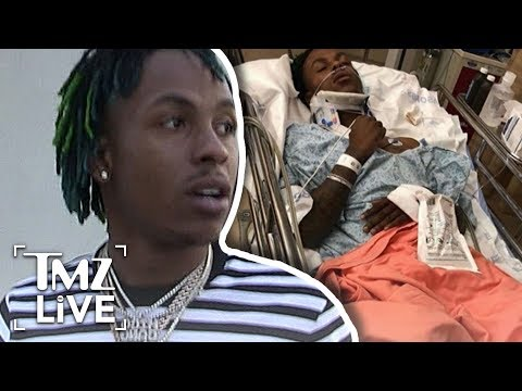 Rich the Kid Hospitalized After Home Invasion | TMZ Live