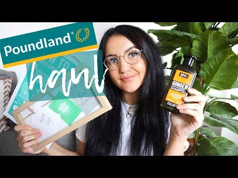 A POUNDLAND HAUL - New shampoo, signs & pens