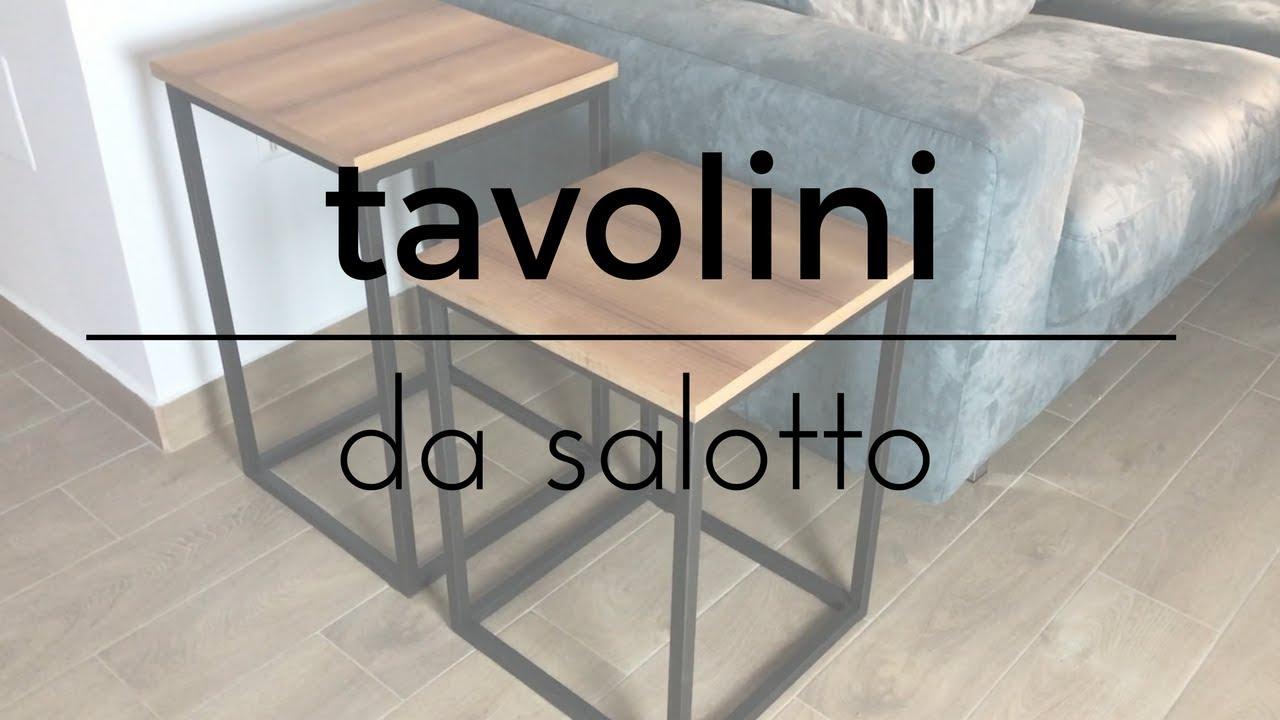 Fai da te tavolini da salotto semplici da realizzare for Tavolino per salotto