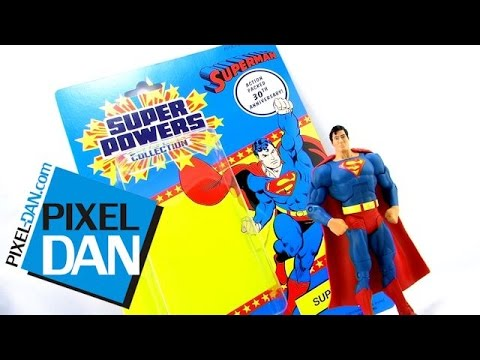 Mattel DCUC Super Powers Collection Superman Figure Video Review