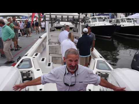SOLACE Boats 345 At The 2019 Annapolis Powerboat Show