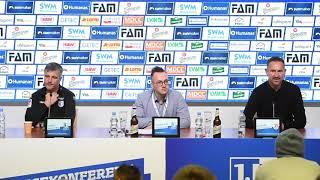 Pressekonferenz 1. FC Magdeburg gegen SSV Jahn Regensburg 2:3 (1:1)