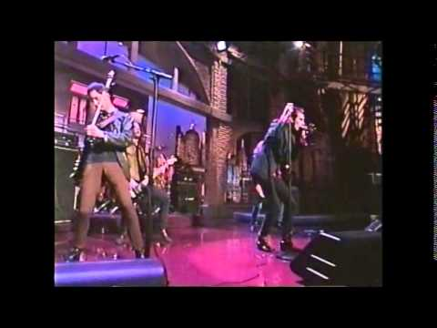 Sponge - Plowed on Letterman  - 07-19-1996