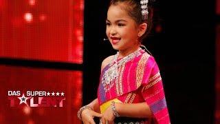 Wie süß! Diese 5-jährige verzaubert Dieter! | Das Supertalent 2018 | Sendung vom 24.11.2018