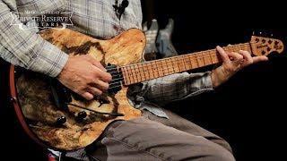 Ernie Ball Music Man Burl Top BFR Axis Super Sport Electric Guitar