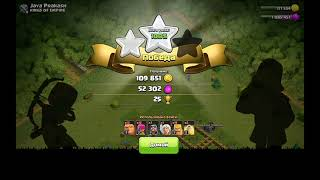 Атаки в Clash of Clans #1