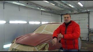 Цвет Porsche на выходе никто не знает, даже я. Cayenne Turbo S. Монстр 17.