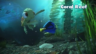 Finding Dory & Nemo - Coral Reef - Rush: A Disney Pixar Adventure