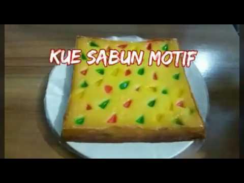 Cara Mudah Membuat Kue Sabun Motif Youtube