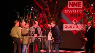 Eagulls Hit Out At Yorkshire Police In NME Awards Speech