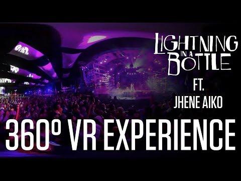 Jhene Aiko Full Set at Lightning in a Bottle | 360° Virtual Reality