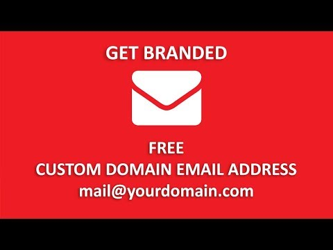 Create Email Address With Your Own Domain For Free