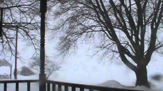 Thunder During Winter Storm Rex- Near Granville, IL