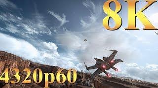 Star Wars Battlefront 8K 4320p60 Gameplay Titan X Pascal 4 Way SLI PC Gaming 4K | 5K | 8K and Beyond