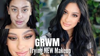FALL Get Ready | Trying NEW Makeup