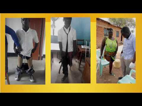 Fitting New Limbs at Lake Victoria Disability Centre, Tanzania