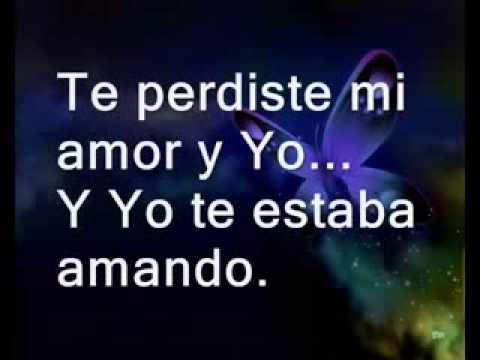 Te Perdiste mi Amor - Thalía Feat. Prince Royce