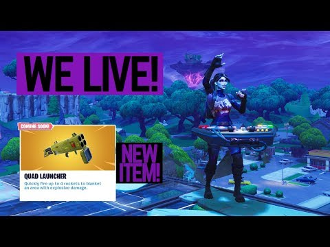 New Item Solo Gameplay Chat With Chris 780 Wins Aggressive Plays Fortnite Br