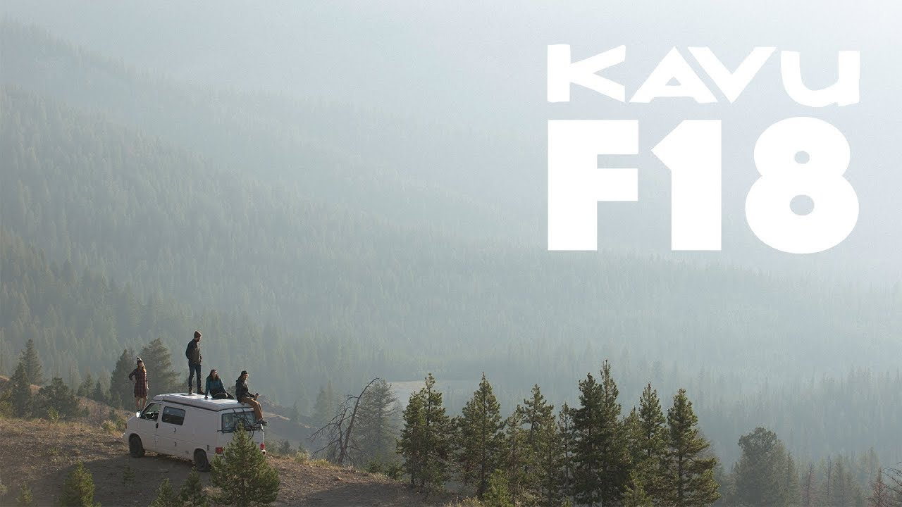 [VIDEO] - KAVU FALL 2018 LOOKBOOK 2