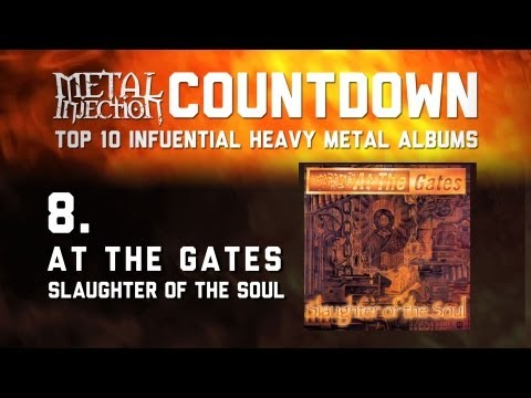 8. AT THE GATES Slaughter of the Soul - Top 10 Influential Heavy Metal Albums Metal Injection