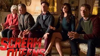 Scream Queens Thanksgiving Episode - Rachele Brooke Smith & Chad Michael Murray Scene
