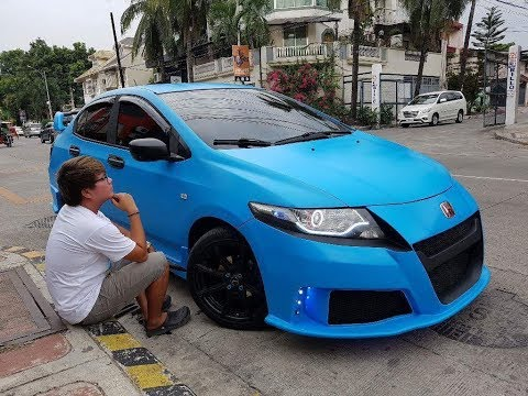 Honda City Modified Crz Inspired Body Kit Loud Exhaust