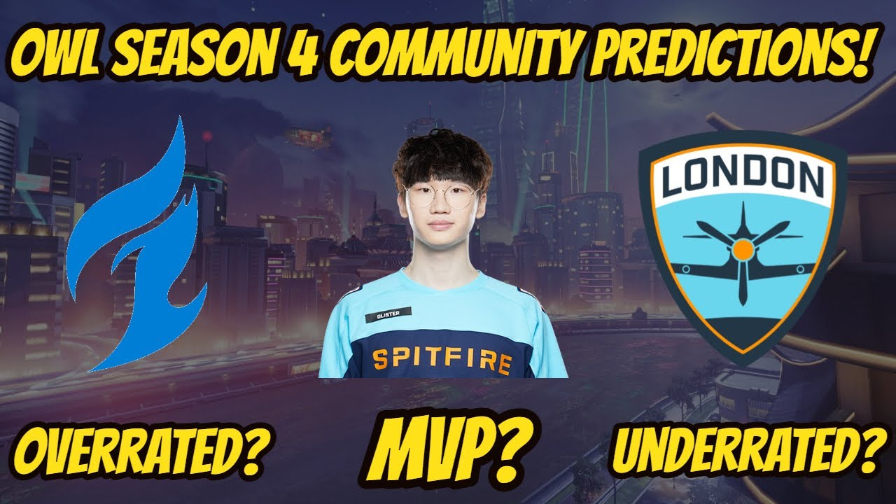 Overwatch League Season 4 Community Predictions