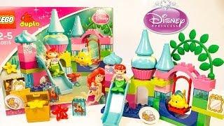 Princess Ariel Little Mermaid Lego Duplo Disney Toys Unboxing La Sirenita Princesas Disney