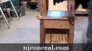 Nj Concealment Furniture Coffee & End Tables
