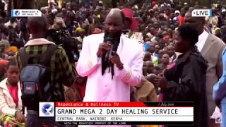 The message to the nairobians from central park by the mightiest prophet dr. owour BESTNET MEDIA