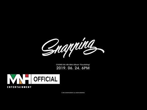 """청하(CHUNG HA) - """"Snapping"""" Music Video Teaser 1"""
