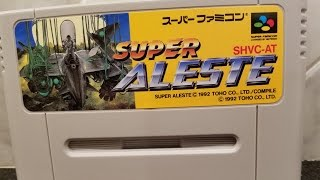 SUPER ALESTE Space MegaForce pickup by Classic Game Room