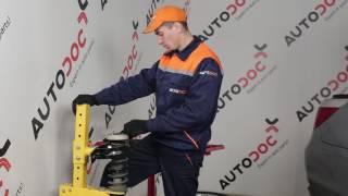 Udskiftning af Støddæmper BMW 5 SERIES: værkstedshåndbog