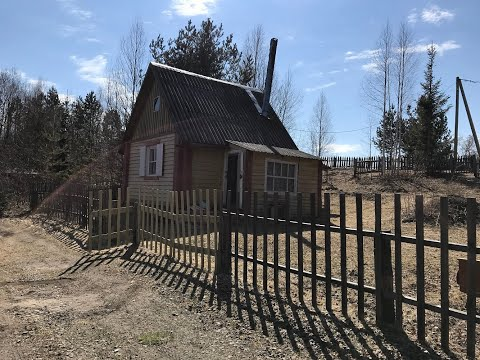 Купить дом - дачу в Карелии на берегу озера в деревне РАЙгуба.