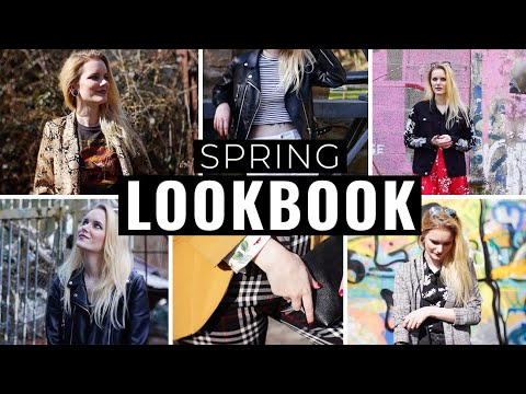 [VIDEO] - SPRING LOOKBOOK | (Grunge, Rock, Alternative Outfits) 2