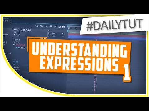 🔴 Understanding Expressions in After Effects 01 - Coding Beginner Tutorial w/ Examples [#DailyTut]